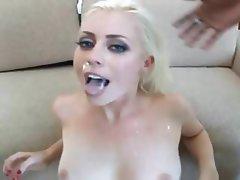 Blonde, Pornstar, Interracial