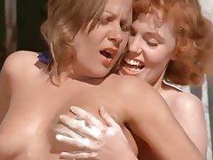 Femdom, Group Sex, Hairy, Redhead, Vintage