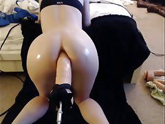Amateur, Anal, Masturbation, Webcam