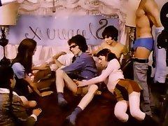 Gangbang, Group Sex, Hairy, Swinger, Vintage