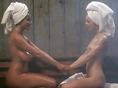 Big boobs shower lesbian