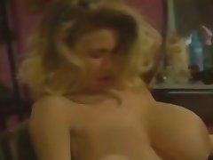 Lesbian, Blonde, Big Boobs, Vintage