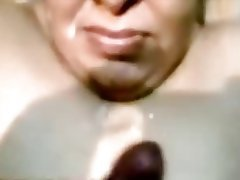 Cumshot, Facial, Indian, Mature