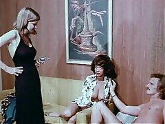 Femdom, Group Sex, Hairy, Interracial, Vintage