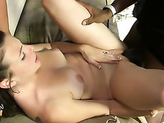 Big Tits, Blowjob, Creampie, Ebony, Glasses